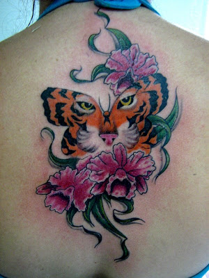 Resultado de imagem para tattoos orquideas