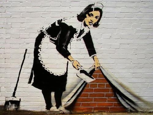 Resultado de imagem para banksy obras