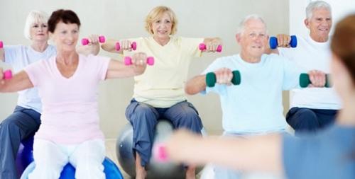 Resultado de imagem para exercicios para terceira idade