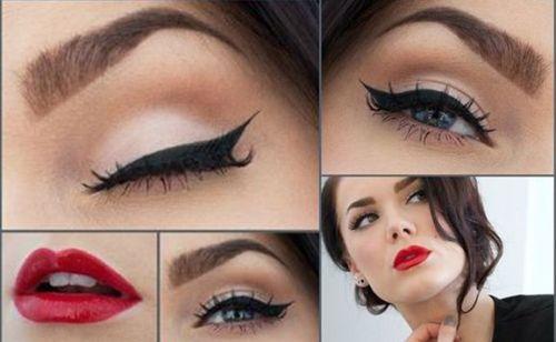 Resultado de imagem para maquiagem moderna