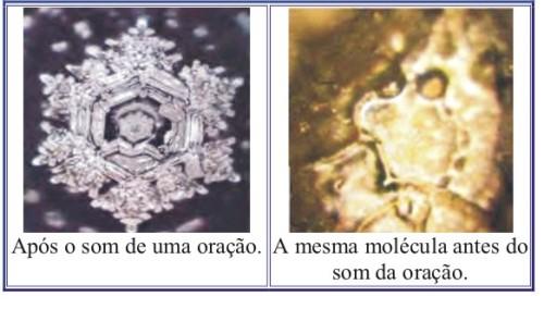 Resultado de imagem para água conforme Dr. Emoto