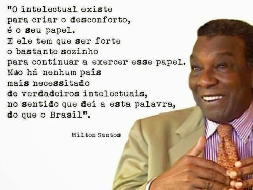 Resultado de imagem para Milton Santos