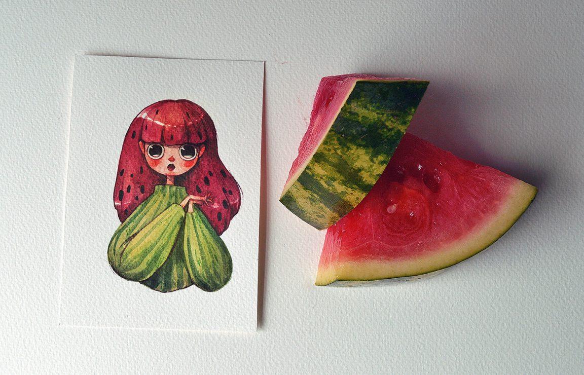 Resultado de imagem para ilustrações de Marija Tiurina