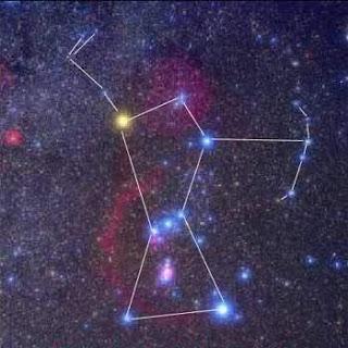 Resultado de imagem para constelação do caçador
