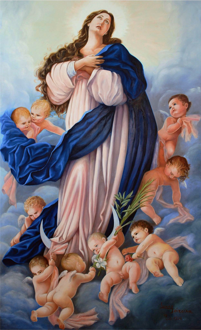 Resultado de imagem para Imaculada Conceição