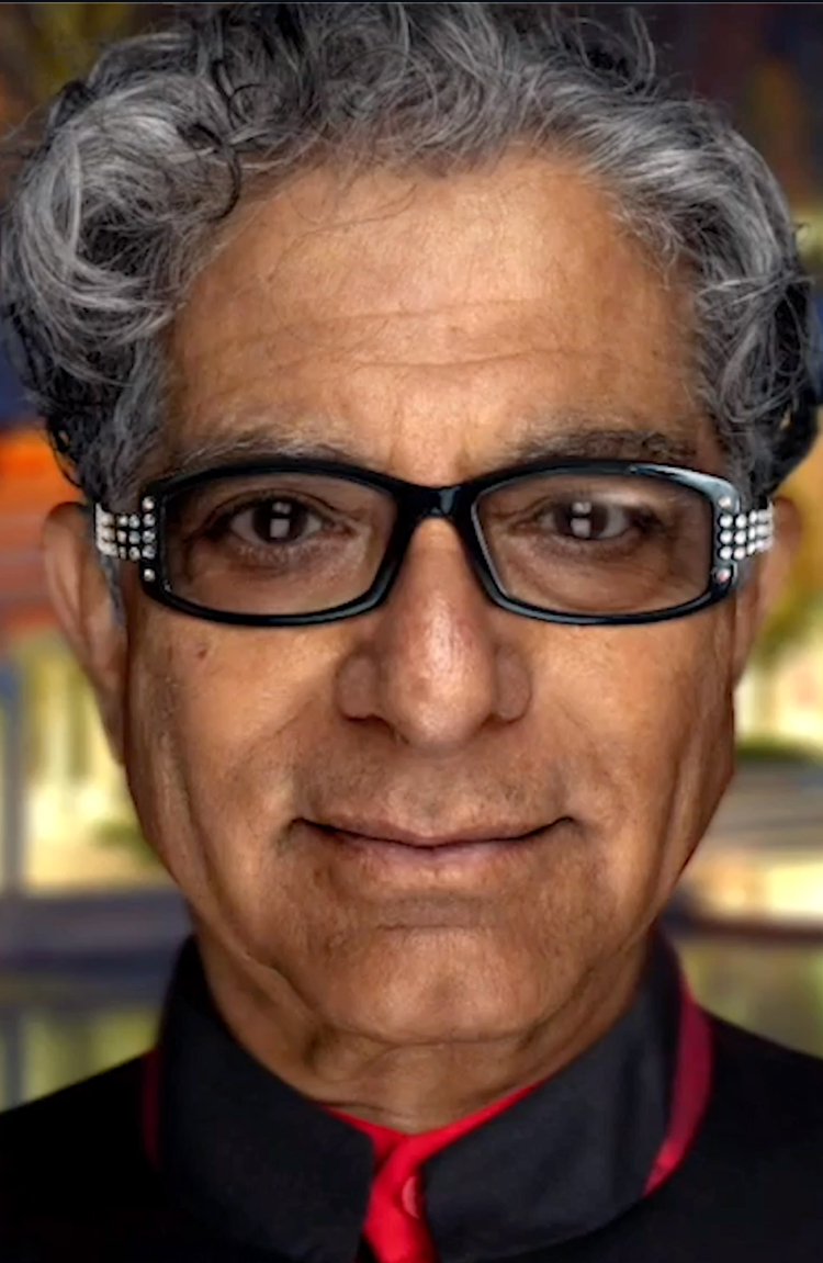 We are Powering Digital Deepak, Dr. Chopra's Own AI, with many ...